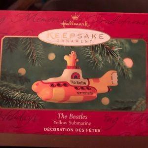 1995 Hallmark Yellow Submarine-Beatles-Mint in box
